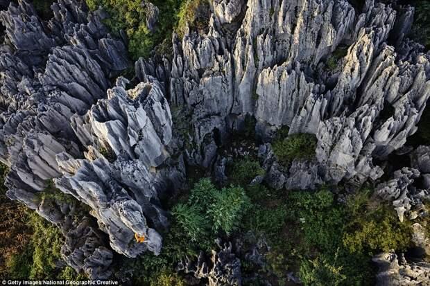 Известняковые скалы
