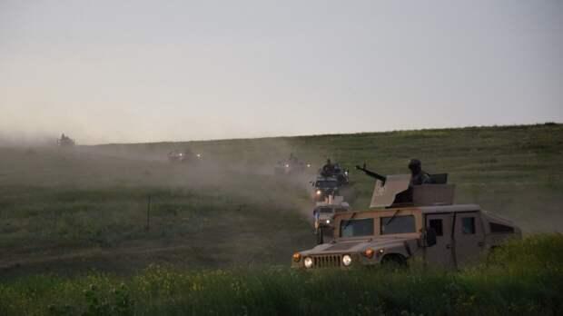 В Сети появилось видео с «подаренным» Украиной Humvee на репетиции парада в ЛНР