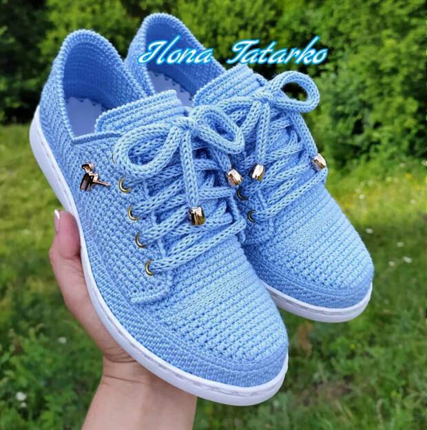 «Главная по ботиночкам!» — уникальная вязаная обувь Илоны Татарко