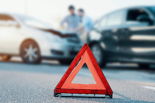 На Дмитровке произошли две аварии подряд