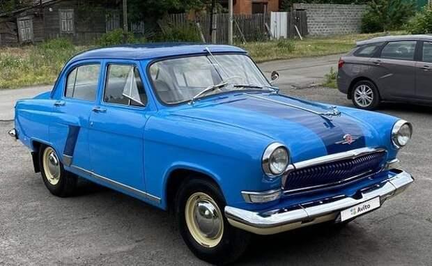 Раритетную «Волгу» в идеальном состоянии выставили на продажу в Ростовской области