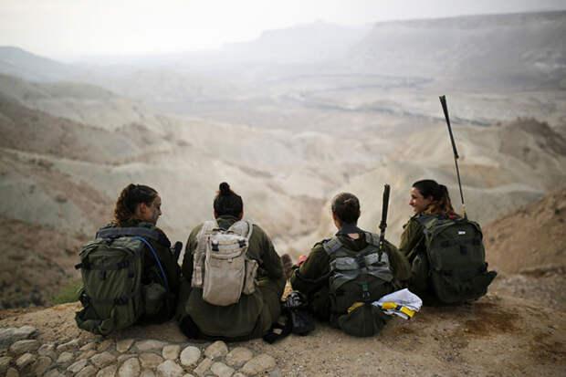 Как служат женщины в израильском батальоне «Каракал»