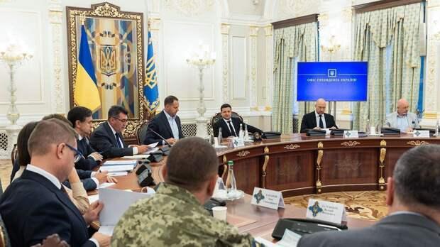 Энергетическая безопасность и контроль за интернетом: что решили на заседании СНБО Украины