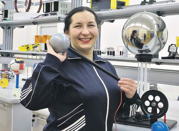 Учительница физики из Митина стала призёром Кубка России в толкании ядра