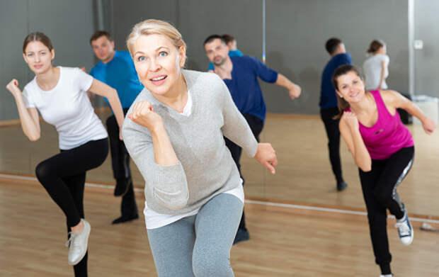 Пенсионеров из Отрадного научат танцевать зумбу