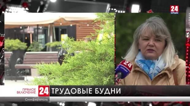 Как у крымчан проходит первый рабочий день после майских праздников