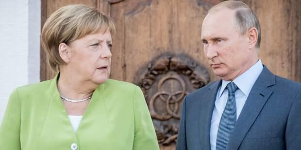Путину с Меркель есть о чем поговорить