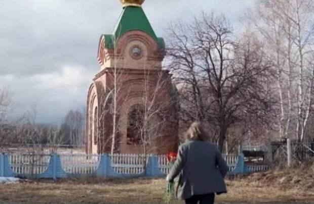 Сафронов показал семейный склеп подУльяновском, вкотором попросил вбудущем похоронить его