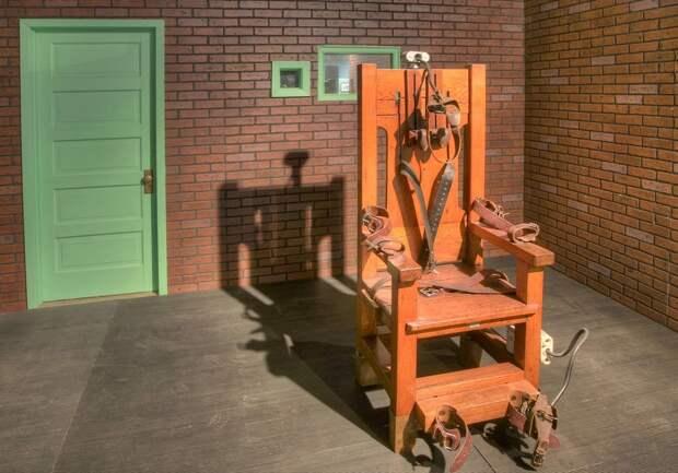 4. Электрический стул. северная корея, смертная казнь