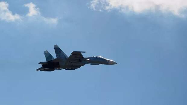 Су-27 поднимался на перехват самолёта ВМС США над Балтийским морем