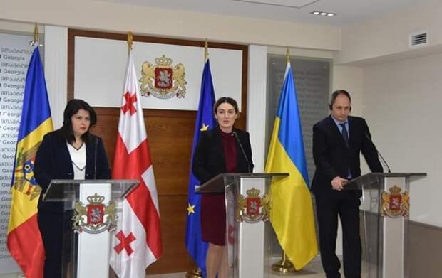 Грузия, Молдавия и Украина подписали меморандум о работе по интеграции в ЕС