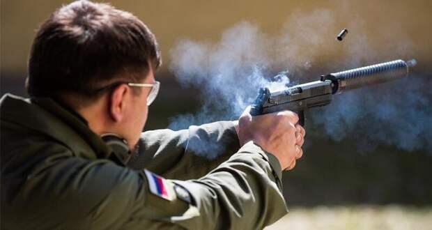 Российские силовики смогут стрелять без шума и пламени