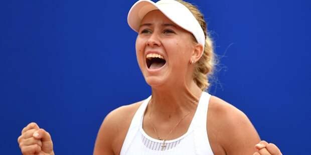 Анастасия Потапова прошла на второй круг турнира в Монтеррее