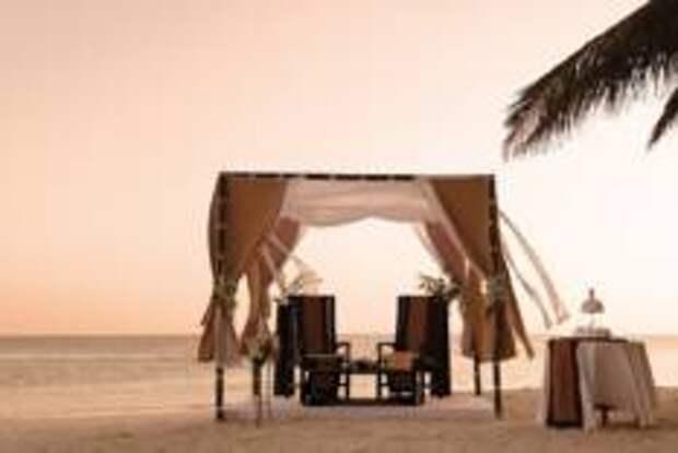 Время романтики в Baros Maldives