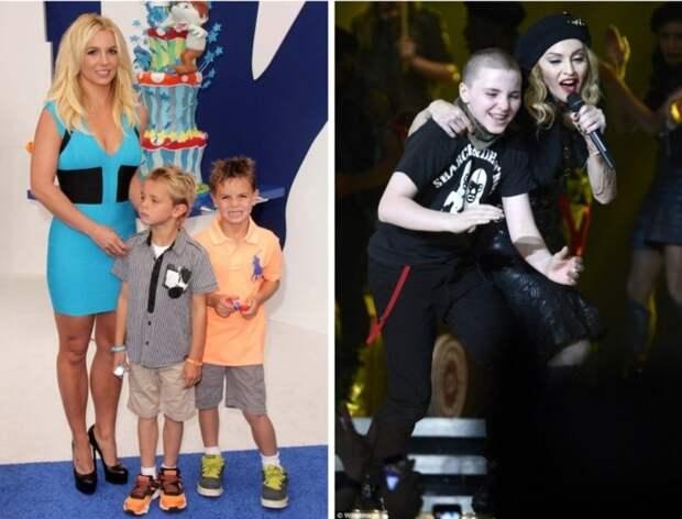 5 звездных мам, которых лишали родительских прав: Мадонна, Дана Борисова и др