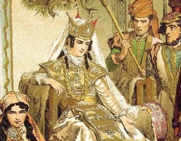 Как грузинская царица Тамара воевала против собственного мужа — русского князя Юрия Боголюбского
