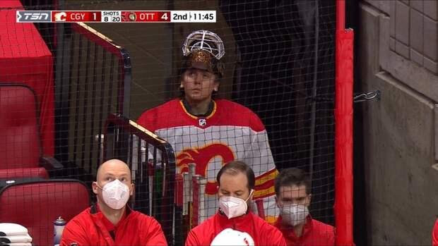 Загидулин стал 10-м российским вратарем вэтом сезоне НХЛ