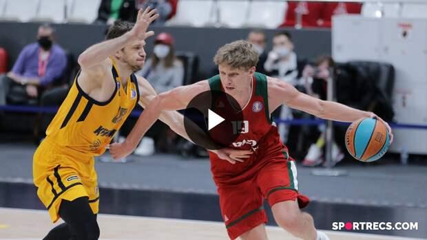 Lokomotiv-Kuban vs Khimki Condensed Game Quarterfinals Game 1   Season 2020-21