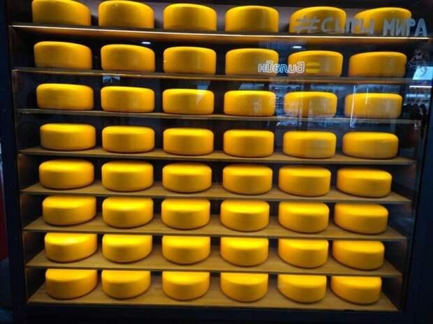 Сырная лавка как искусство