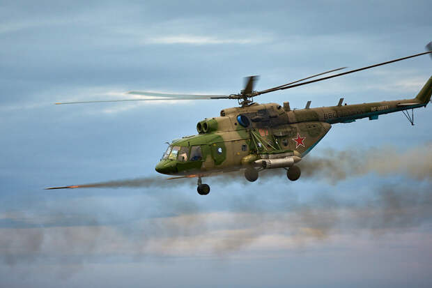 Россия заняла второе место среди производителей боевых вертолетов