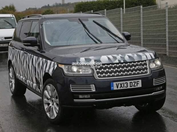 На Нюрбургринге подловлен самый странный и дорогой Range Rover