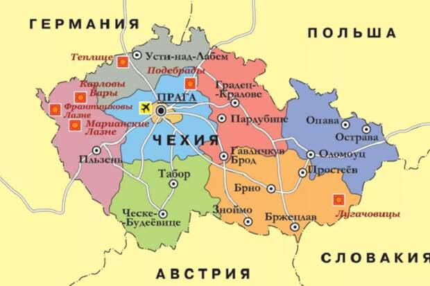 Что побудило небольшую Чехию вести антироссийскую политику (фото из открытых источников)