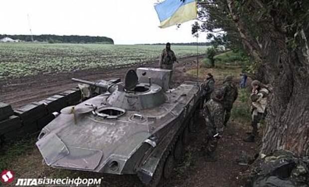 В Иловайске силы АТО продолжают удерживать часть города