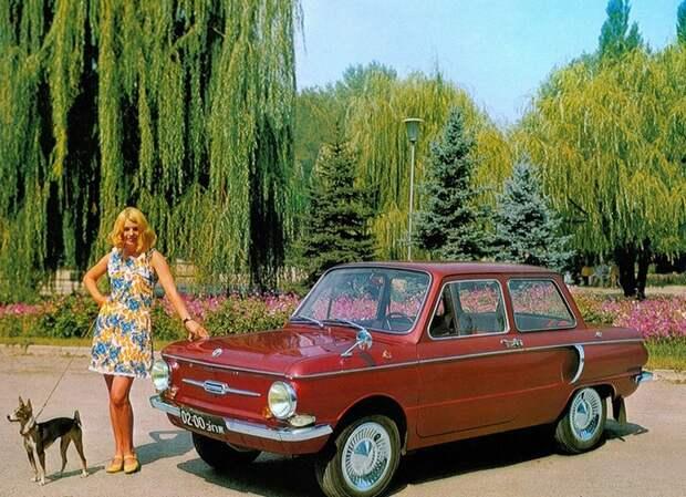 Автомобиль как самое желанное приобретение советских граждан.