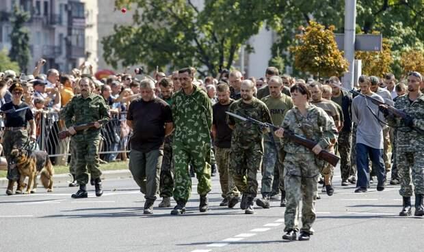 Бандеровцы пообещали пройти когда-нибудь по Красной площади