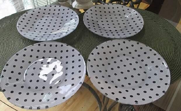 декор тарелок своими руками