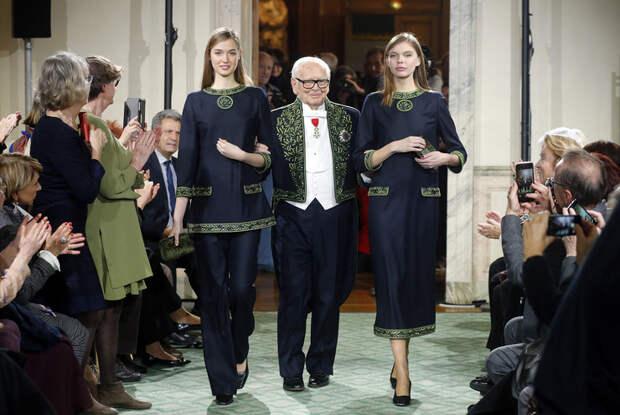 Пьер Карден скончался на 99-м году жизни