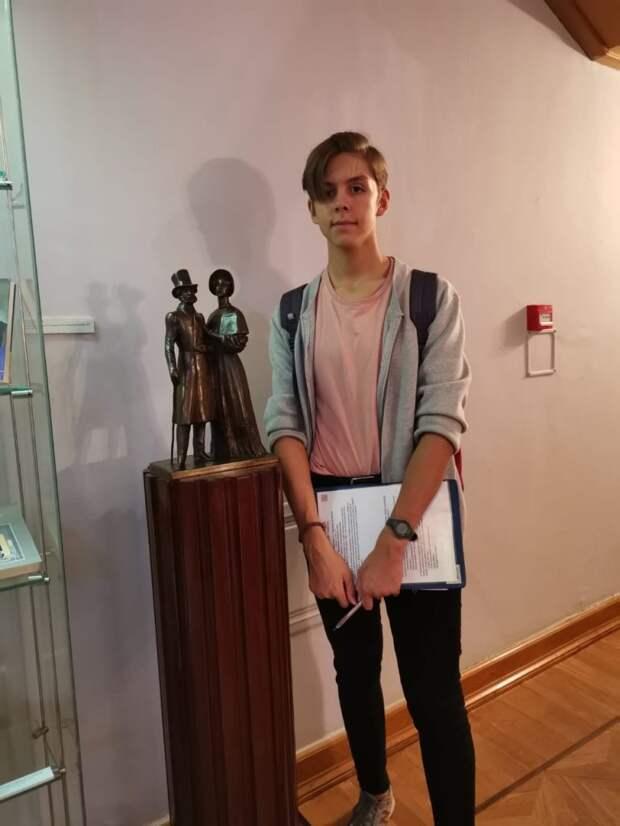 Ученик из Северного победил на городском конкурсе с проектом о трудоустройстве школьников