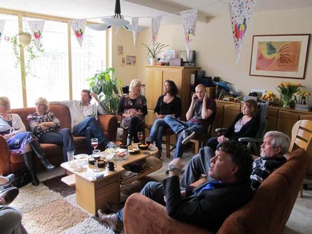Типичный День рождения в Голландии. фото pinterest