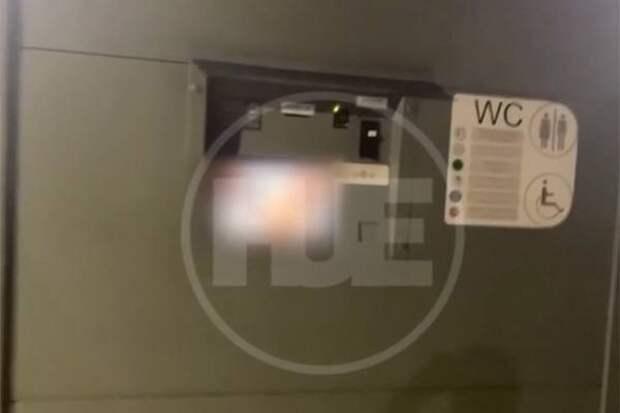 В общественном туалете нижегородского парка внезапно показали порно