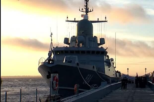Балтийский флот пополнят малые ракетные корабли «Буря» и «Град»