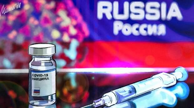 Российская вакцина одолела западную пропаганду. Колонка Голоса Мордора