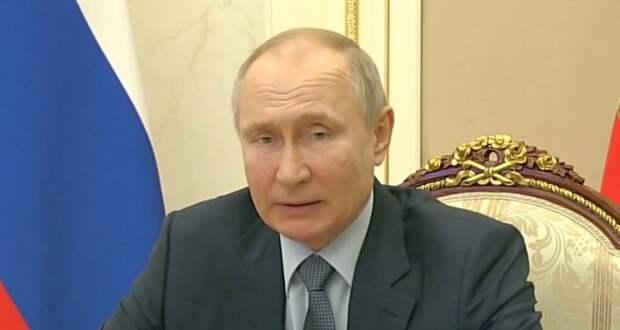 Владимир Путин: Украину превращают в «антипод» России