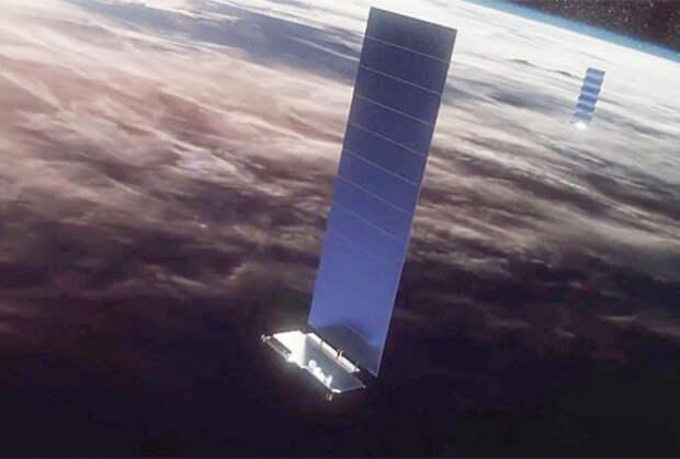 Космические аппараты Starlink