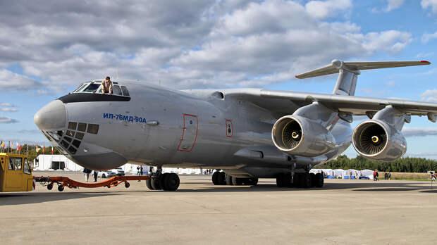 Россия и Алжир могут заключить первый контракт на поставку модернизированных Ил-76