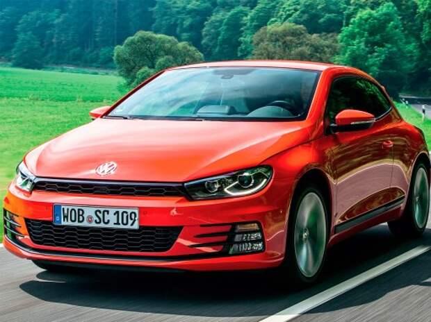 Тест обновленного VW Scirocco: полуспорт