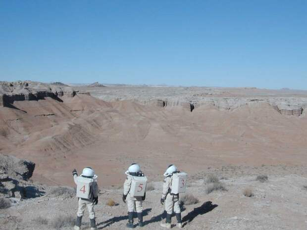 Есть ли пиндос на Марсе