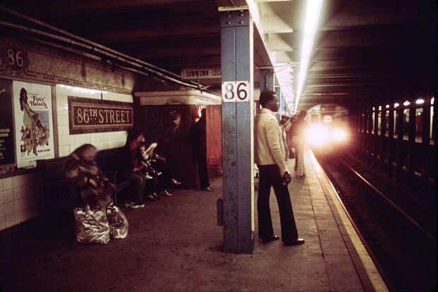 Нью-Йорк 70-х годов прошлого века