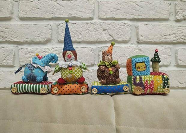 Пэчворк для деток - самые добрые игрушки