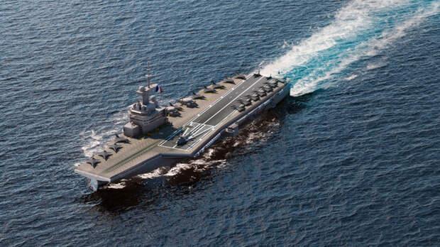 Франция рассекретила данные своего нового атомного авианосца