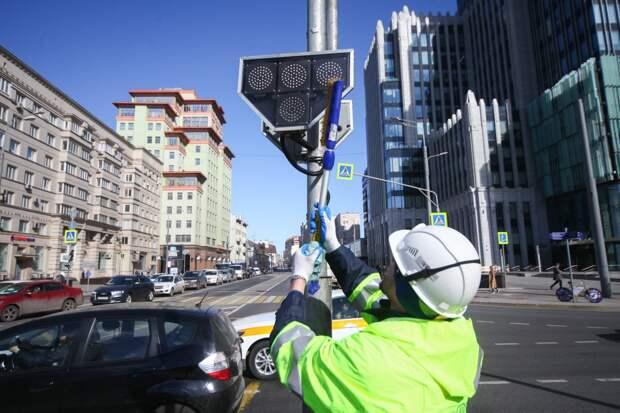 Скорость на некоторых улицах Москвы снизят до 30 км/ч