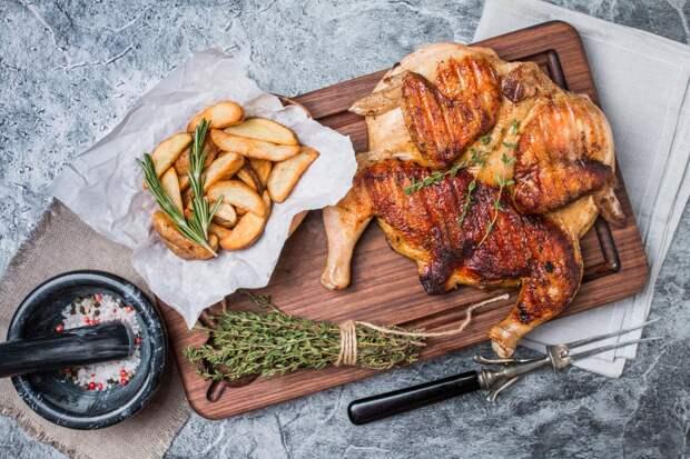 Идеальный! Готовим цыпленка табака по рецепту Раисы Алибековой