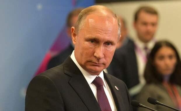 Путин назвал инцидент в Черном море провокацией в преддверии выборов на Украине