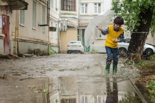 Кратковременные дожди и грозы ожидаются в Удмуртии в пятницу