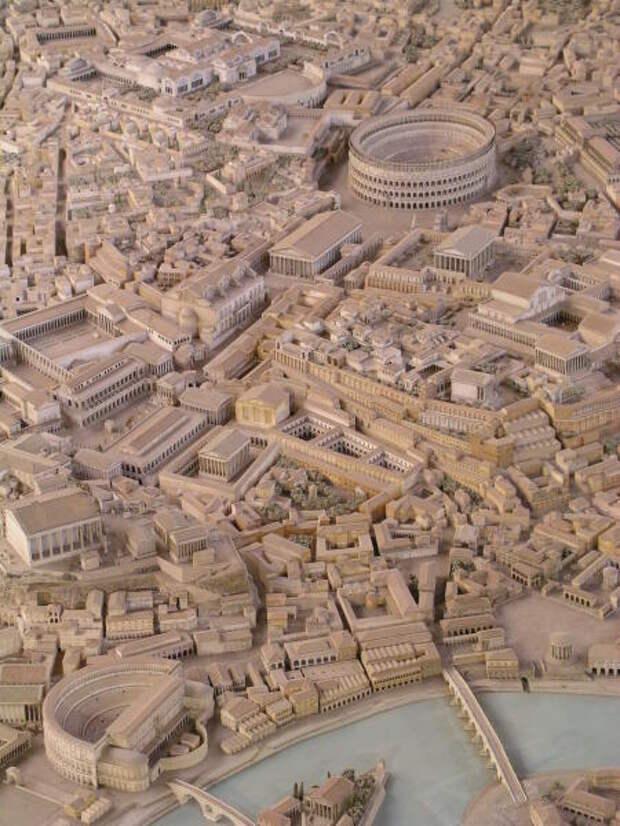 Рим в имперскую эпоху. Современная реконструкция