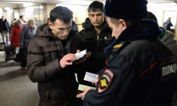 Нелегалов просят покинуть Россию